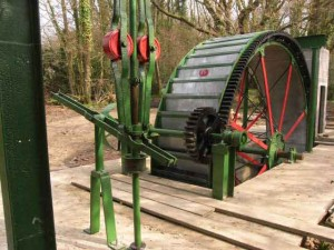 my lovely waterwheel